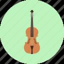 classical, intrumental, jazz, music, retro, string, violin icon