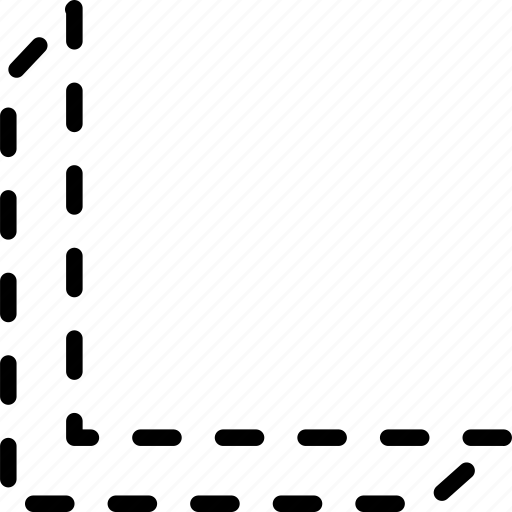 arrow, bottom, diagonal, direction, indicator, move, orientation icon