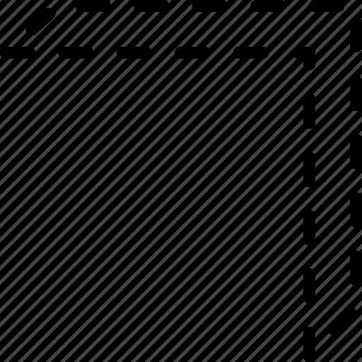 arrow, diagonal, direction, indicator, move, orientation, top icon