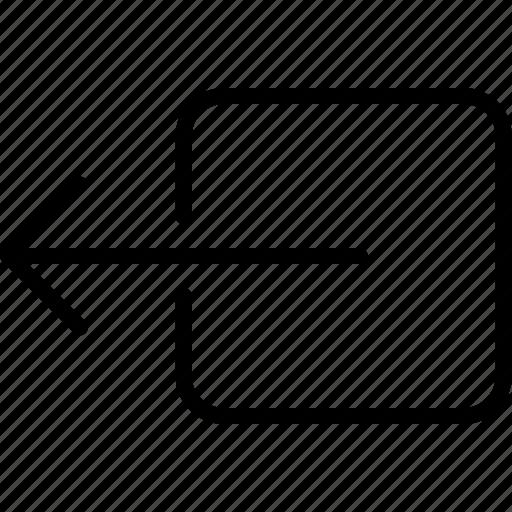 arrow, direction, drag, left, move, object, orientation icon
