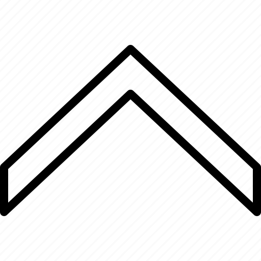 arrow, direction, indicator, move, orientation, up icon