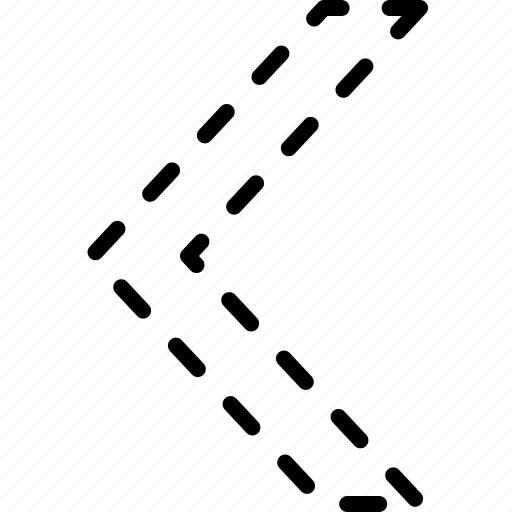 arrow, direction, indicator, left, move, orientation icon