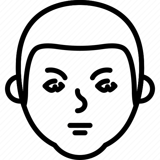 avatar, face, grumpy, people, person icon