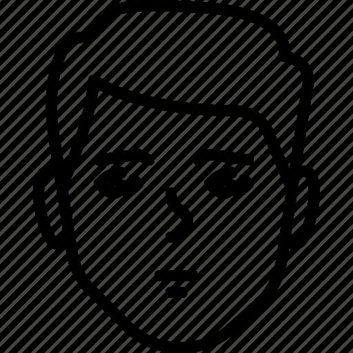 avatar, face, people, person, sad icon