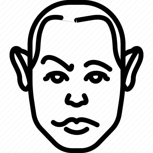 avatar, ears, face, long, people, person icon