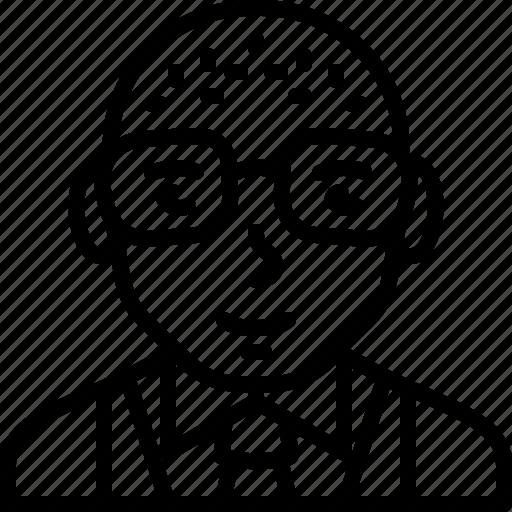 avatar, body, formal, man, person, suit, vest icon
