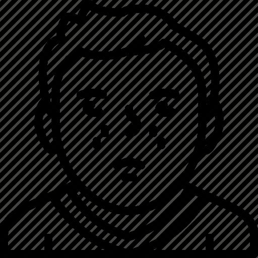 avatar, body, man, person, sweater icon