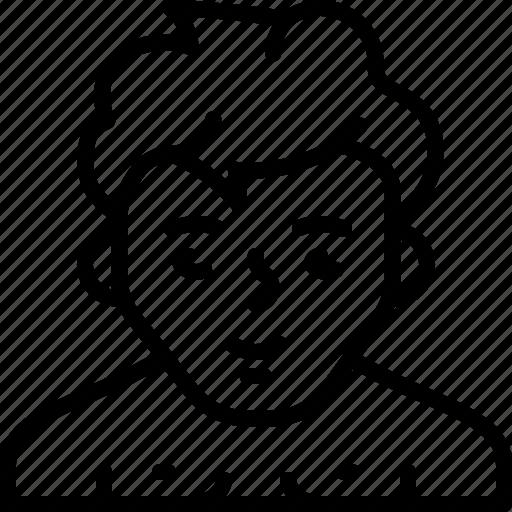 avatar, body, man, naked, person icon