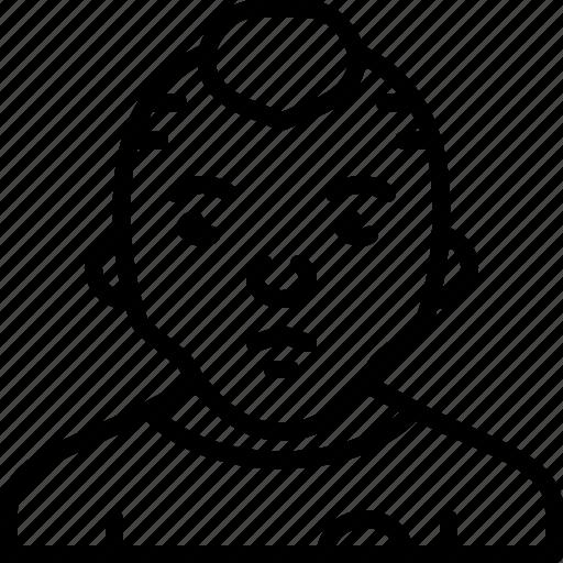 avatar, body, casual, man, person, punk icon