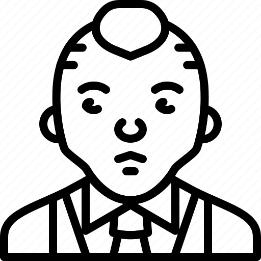 avatar, formal, man, person, punk, suit, tie icon