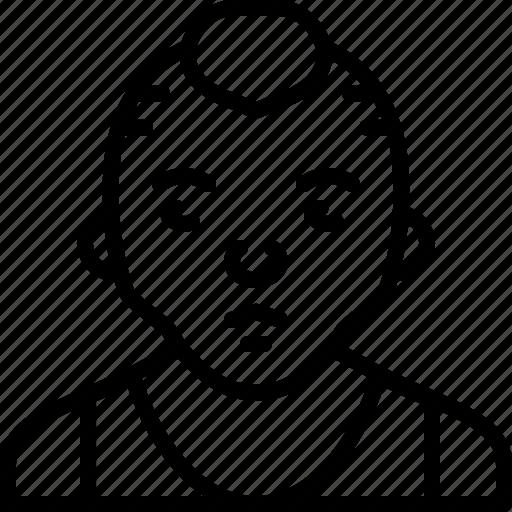 avatar, gym, jersey, man, person, punk, sport icon