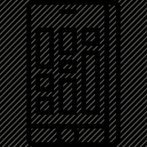 align, app, content, interface, layout, masonry icon