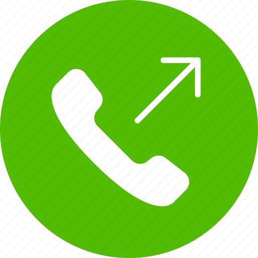 Call, mobile, outgoing icon | Icon search engine
