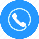 answer, call, internet, phone icon