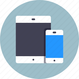 devices, smartphone, tablet icon