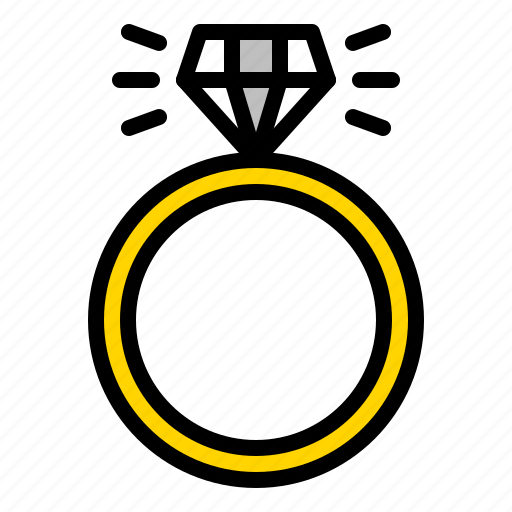 Accessory, diamond, jewel, jewelry, ring icon - Download on Iconfinder