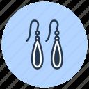 drop, earrings, jewelry