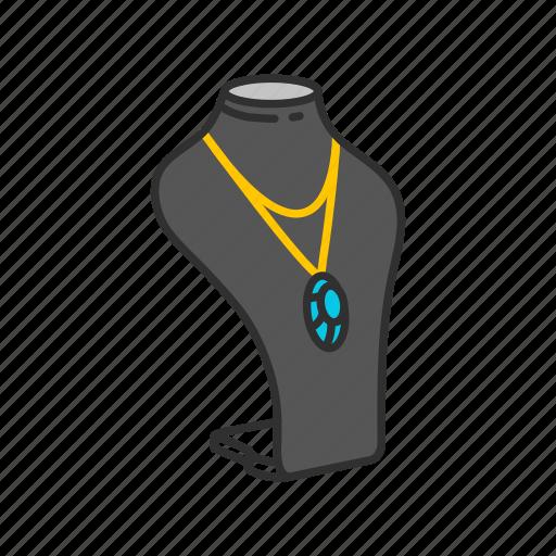accessory, fashion, gems, jewelry, necklace, stone icon
