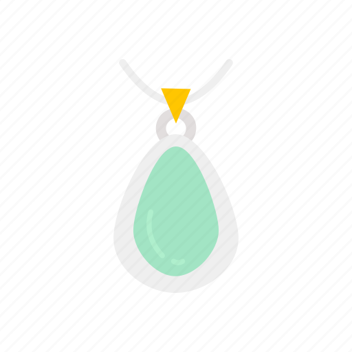 Accessory, fashion, jewelry, necklace, pearl, pendant icon - Download on Iconfinder