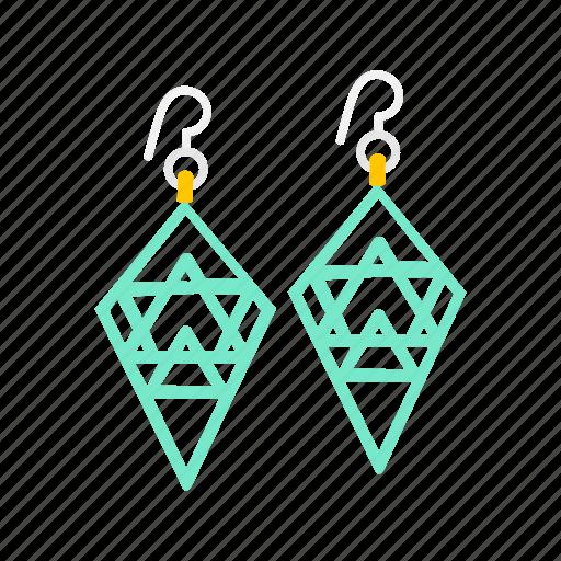 accessory, dangle earrings, earrings, fashion, jewelry icon