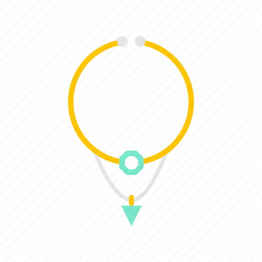 Accessory, fashion, jewelry, necklace, pendant icon - Download on Iconfinder