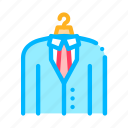 business, costume, hunting, job, suit icon