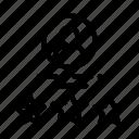 avatar, human, job, silhouette, stars
