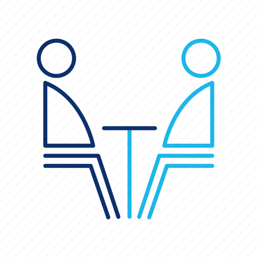 business, colleague, communication, conversation, friends, job, office icon