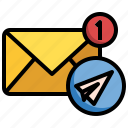 email, mail, send, message, shipping, delivery
