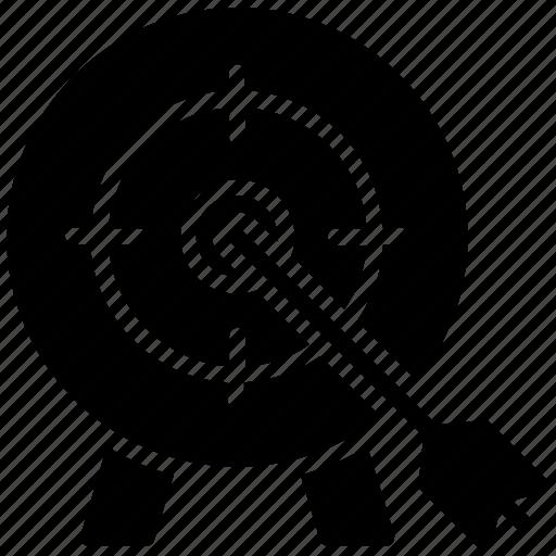 dart board, goal, mission, objective, target board icon