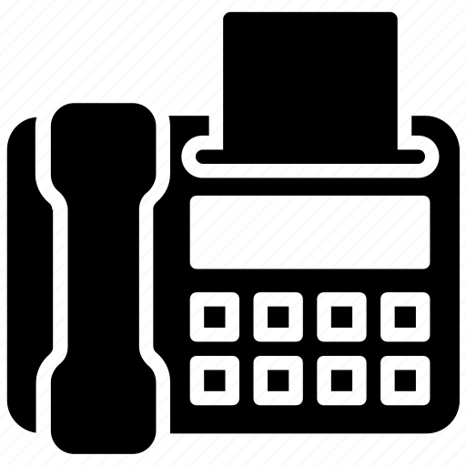 communication device, fax, fax machine, fax modem, online fax icon