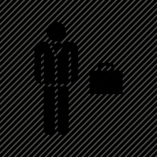 briefcase, businessman, entrepreneur, lawyer icon