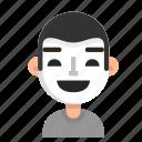 actor, avatar, emoji, profile, theatre, user icon