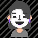 actress, avatar, emoji, profile, theatre, user icon