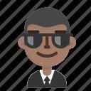 agent, avatar, emoji, male, profile, user icon