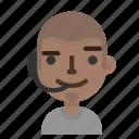avatar, call, emoji, male, operator, profile, user icon
