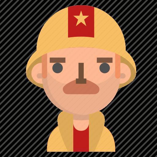 avatar, emoji, emoticon, firefighter, male, profile, user icon