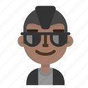 avatar, emoji, emoticon, male, model, profile, user icon