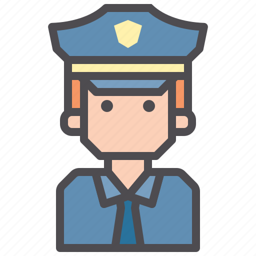 chief, cops, jobs, police icon