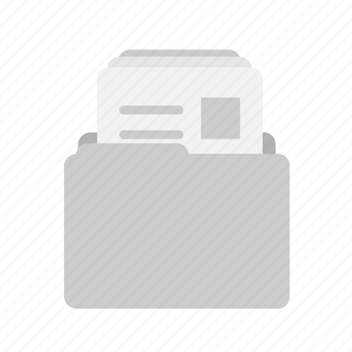 document, file, folder, job, jobseeker, page, paper icon