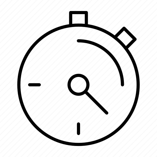 chronometer, clock, second, time, timer icon