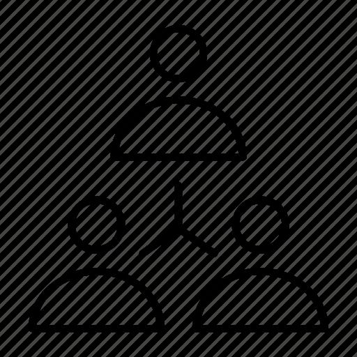 boss, management, team, teamwork, worker icon