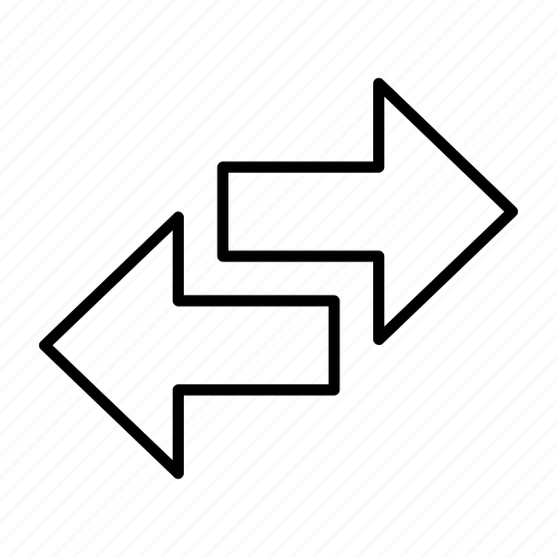 arrow, movement, switch, transfer, transport icon