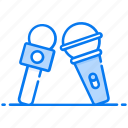 electronic mics, mass media, media mics, media partner, voice microphone icon