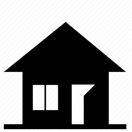 building, cottage, house, journey icon