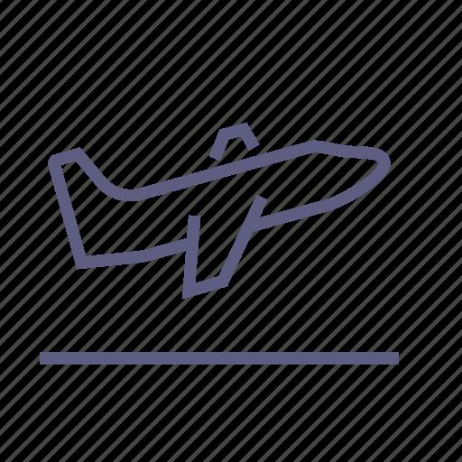 aircraft, airplane, blast-off, flight, plane, takeoff, travel icon