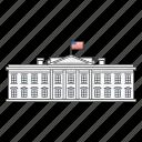 independence, president, united states, white house icon
