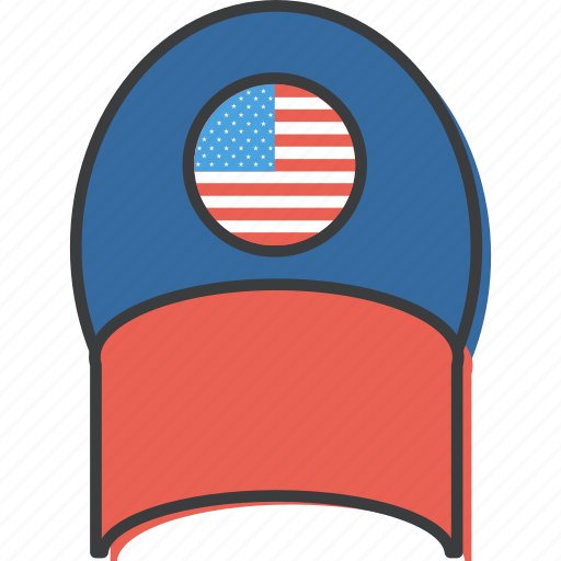 american, cap, celebrations, dress, independence, july 4th, united states icon
