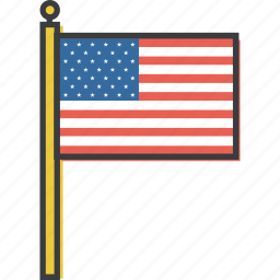 america, american, flag, independence day, july 4th, patriotism, united states icon