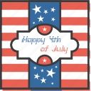 america, american, day, greetings, independence, july 4th, wishes icon